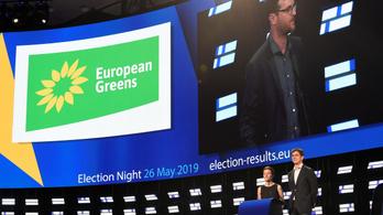 Németországban és Franciaországban is erőt mutattak a Zöldek