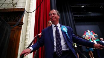 Farage Brexit Pártja nagyot nyert a briteknél