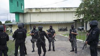 Brutális zavargás egy brazil börtönben: 15 rab meghalt