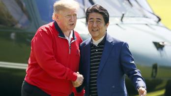 Japán segítene megoldani Trumpnak az iráni helyzetet