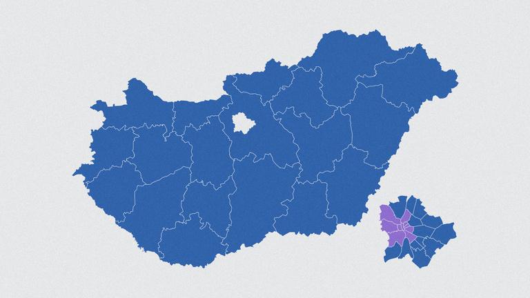 Gyurcsányék uralják a második helyezettek térképét
