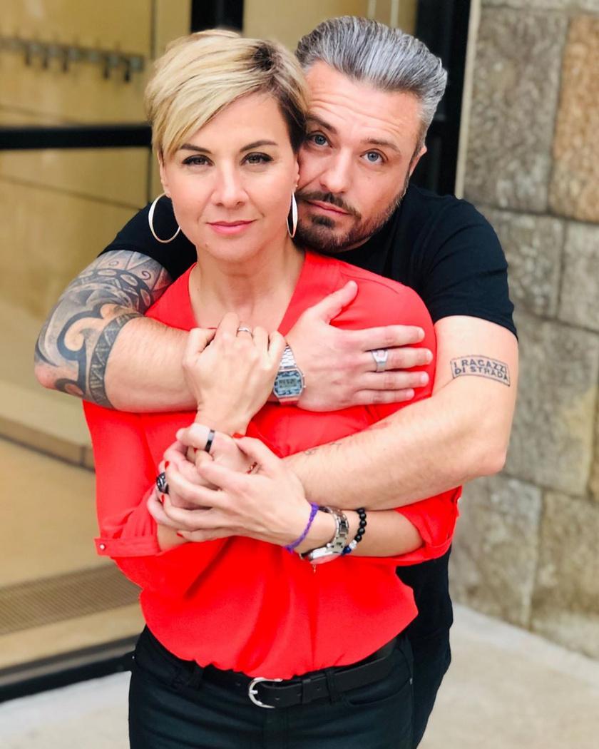 Ábel Anita új párja, Roberto Favarro konyhatechnológiai és gasztronómiai szaktanácsadó, aki remek szakács is, hamarosan saját YouTube-csatornája indul.