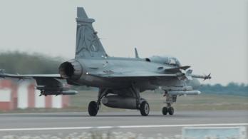 Orosz vadászgépeket fogtak el magyar Gripenek