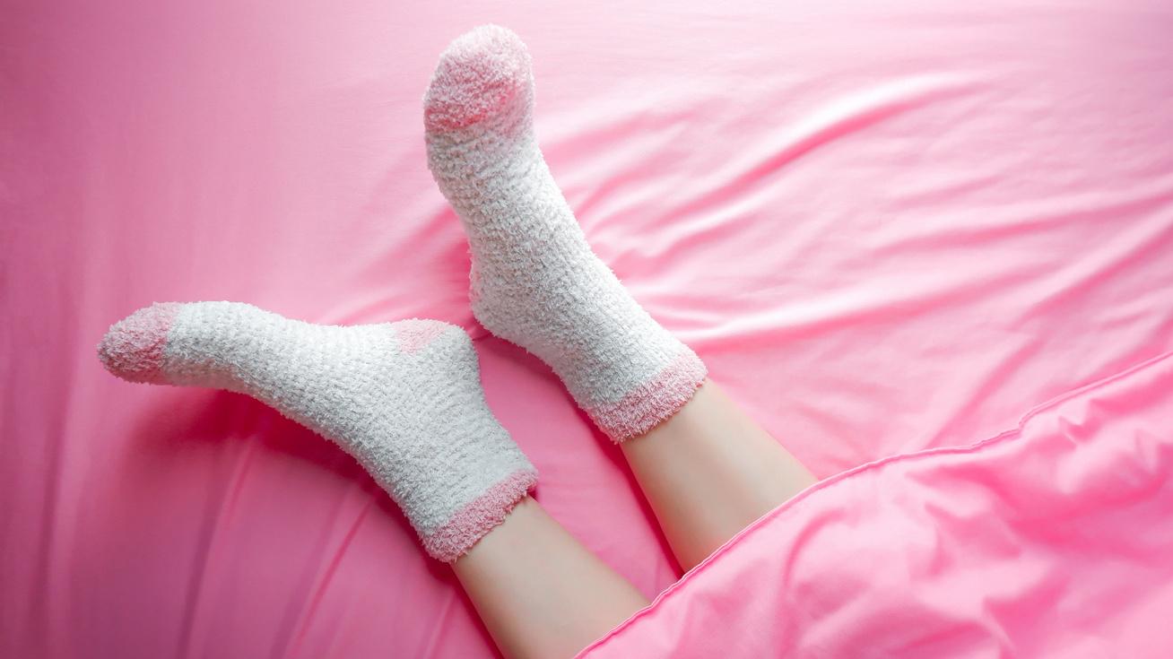zokni-agy-alvas-kep