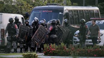 42 megfojtott rab holttestére bukkantak négy brazil börtönben
