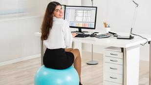 Megéri ülőlabdát venni az irodába?