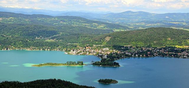 Kilátás Pörtschachra, ©Wörthersee Tourismus
