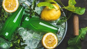 Mennyi citromot látott a citromos ásványvíz?