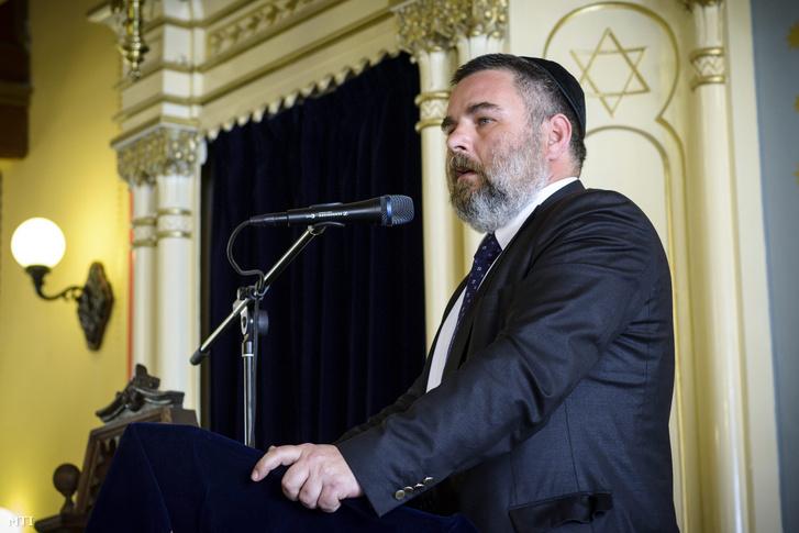 Szabó György a Magyarországi Zsidó Örökség Közalapítvány (Mazsök) elnöke