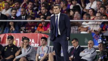 Az elnök eldöntötte, marad a Barca-edző