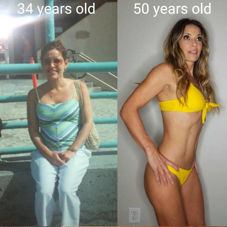Laura Heikkila egy nagyon szerencsés génekkel megáldott 51 éves kaliforniai nő, aki az 5