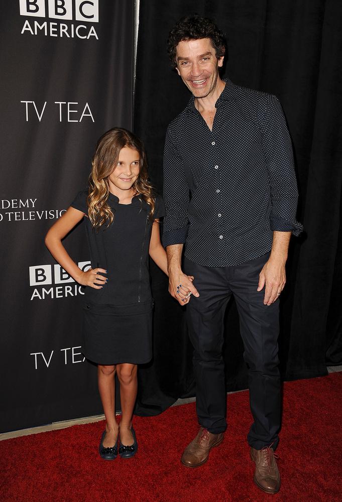 Ezen a képen a színésznő az Intruders-béli színésztársával, James Frainnal látható az amerikai BAFTA díjátadón, 2014-ben