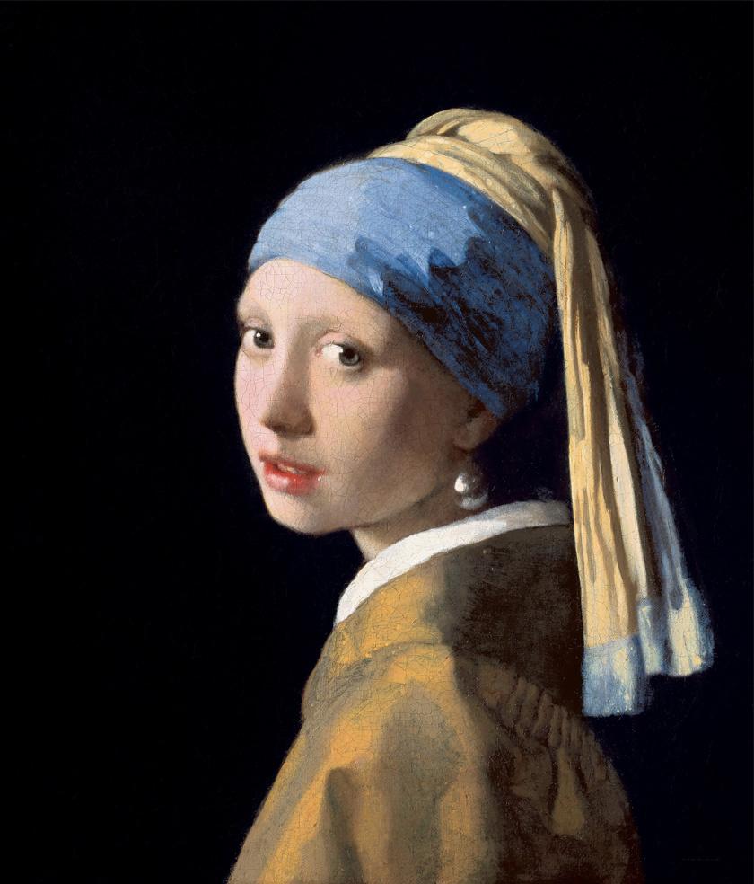 Vermeer: Leány gyöngy fülbevalóval (1655)