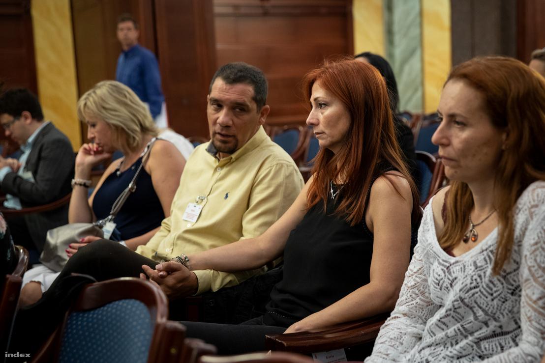 Renner Erika az ügy harmadfokú tárgyalásán 2018 júliusában.