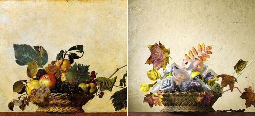 Gyümölcsös kosár - Caravaggio, 1596.