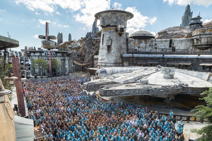 Star Wars: Galaxy's Edge land. Forrás: joshdamaro