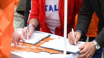 Szétszívatja egymást a Kúria és az Alkotmánybíróság a fideszes aláírásgyűjtés miatt