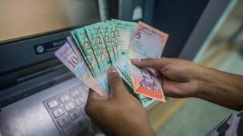 A 10 millió százalékot is elérheti Venezuelában az infláció az idén