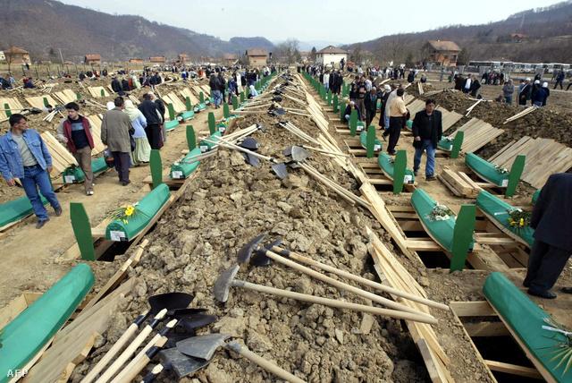 A háború áldozatainak újratemetése, 2003-ban