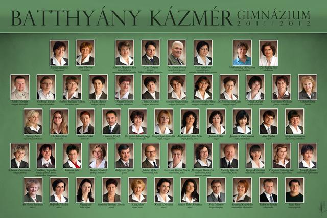 Az iskola idei tablója, a második sor bal szélén Mede Norbert, fent-középen Czita Zoltán. Kattintson a nagyobb méretért!