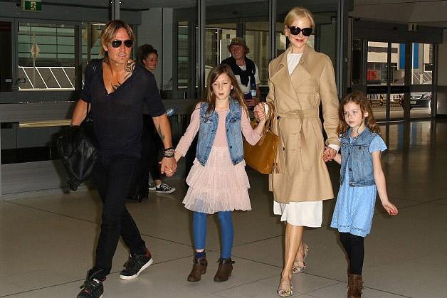 Nagyon szép családja van a színésznőnek.