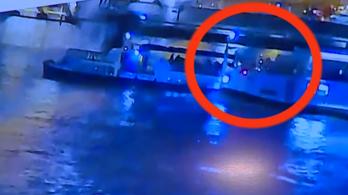 Kiadták a felvételt, ahogy felborul a Hableány az ütközés után