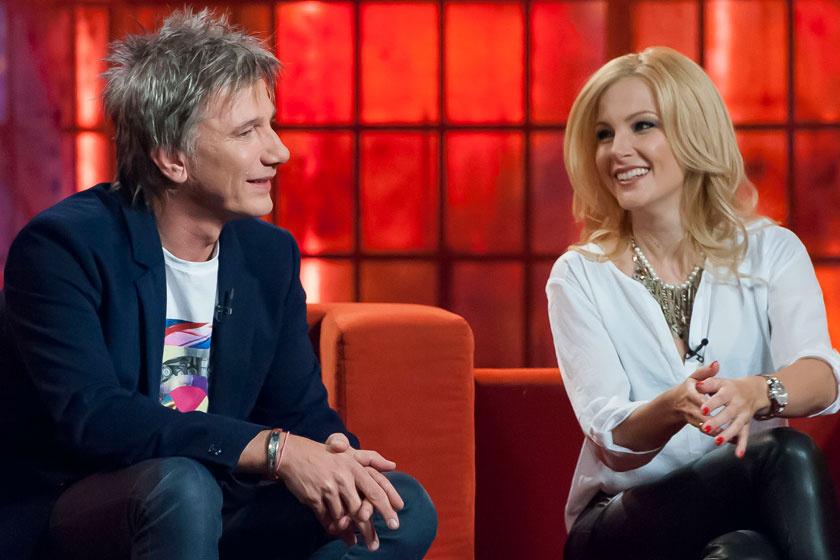 Várkonyi Andrea és Bochkor Gábor néhány évvel ezelőtt Kasza Tibi műsorában.