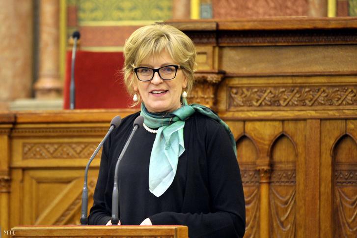 Handó Tünde, az Országos Bírói Hivatal elnöke