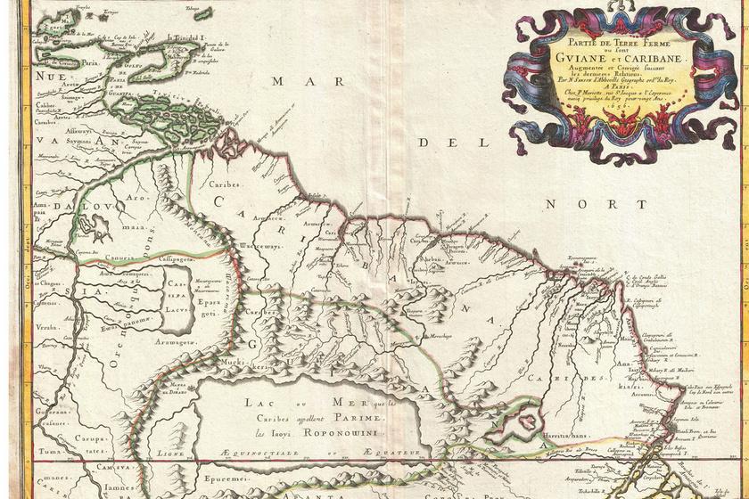 Korabeli térkép.