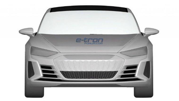 Vázlatokon az újabb villany-Audi