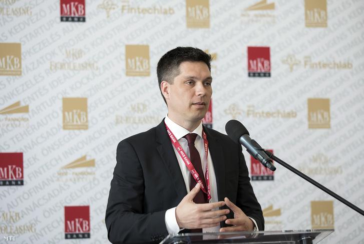 Balog Ádám az MKB Bank Zrt. elnök-vezérigazgatója