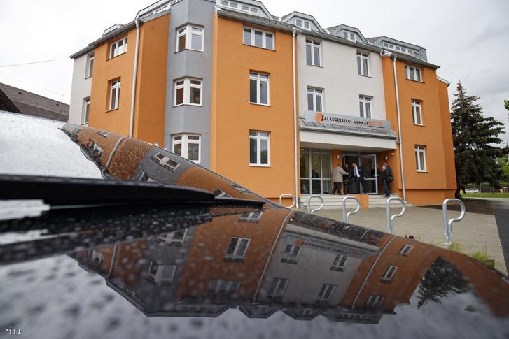 A 180 férõhelyes zalaegerszegi munkáshotel az avatás napján 2019. május 13-án.