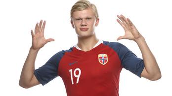 A norvég tini kilenc gólt vágott az U20-as vb-n