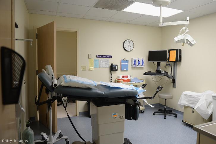 Az abortuszklinika Missouri államban