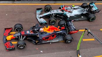 Hamilton véletlenül kiszúrt Bottasszal Monacóban