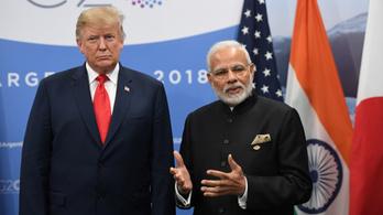 Kína után Donald Trump rámozdult Indiára is