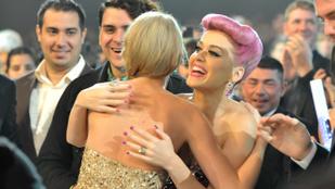 Taylor Swift és Katy Perry végre elásták a csatabárdot