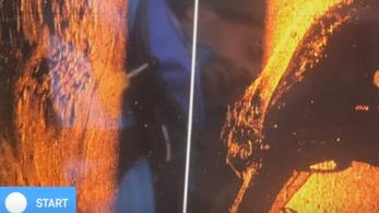 Bemutatták az első képeket a Dunában fekvő hajóroncsról
