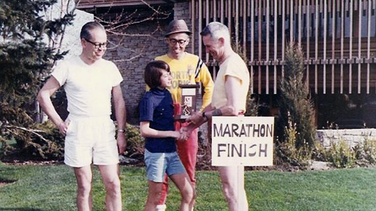 Egy 13 éves lány tartotta a maraton világrekordját