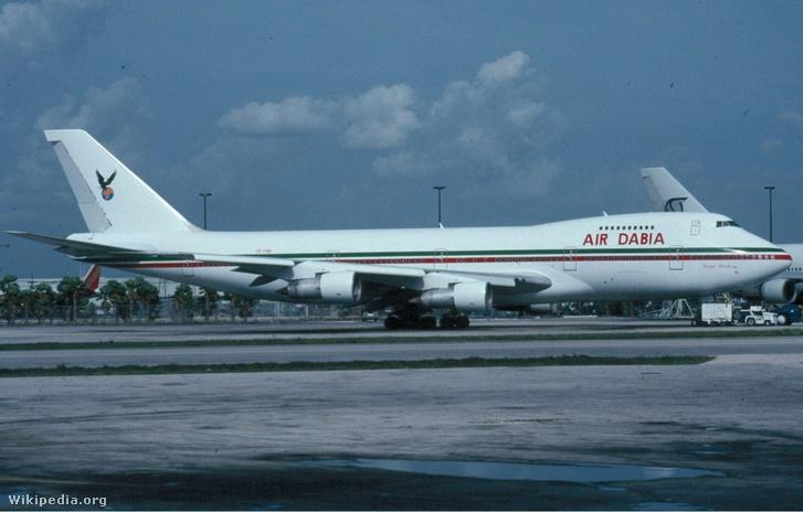 Air Dabia Boeing 747-100 Lengkeek
