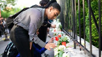 Megemlékezést tartottak az áldozatokról a koreai nagykövetségnél