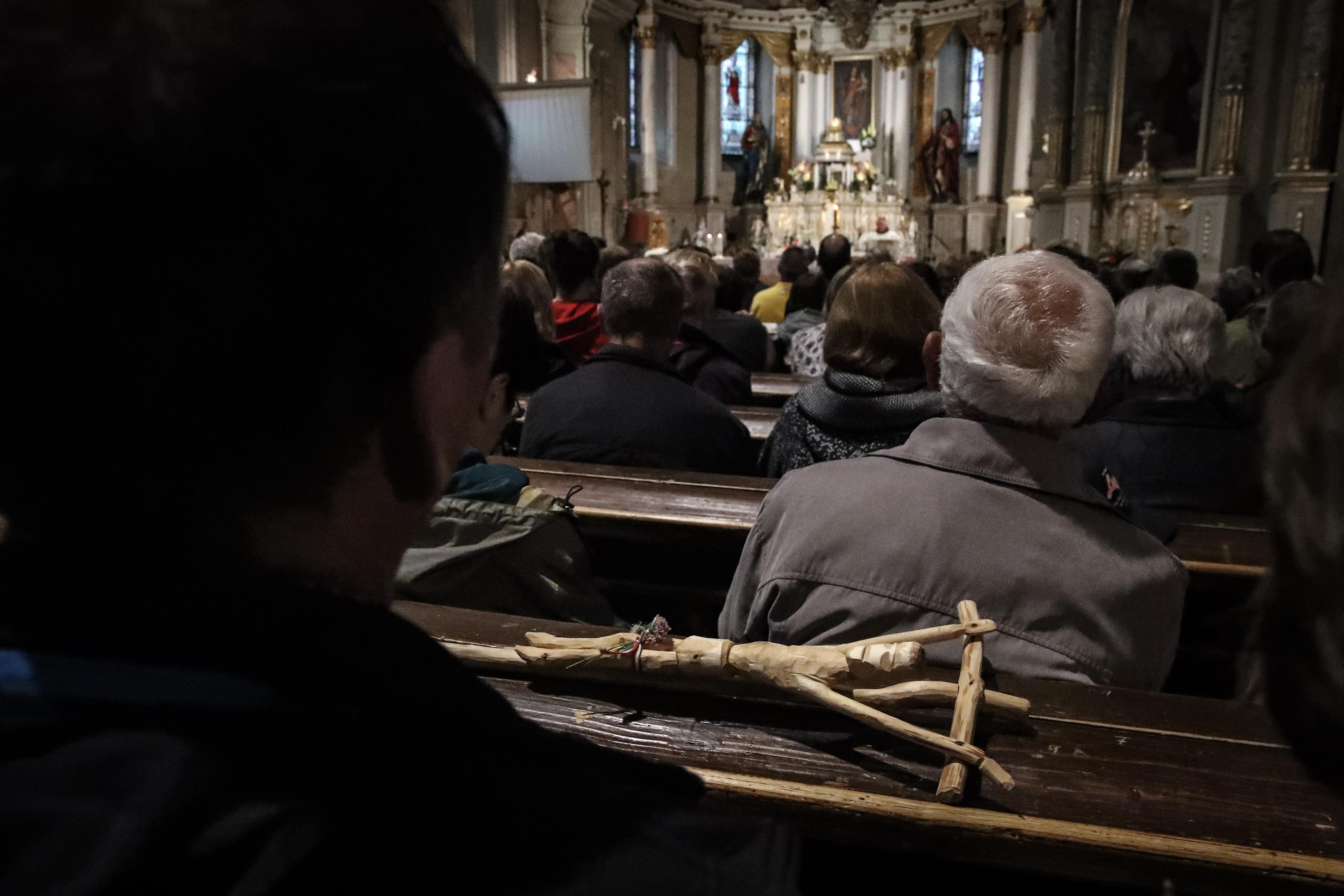 A pápa érkezése előtti virrasztás