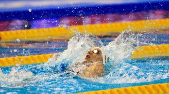 Hosszú Katinka ezüstöt szerzett 200 háton az úszók BL-sorozatában