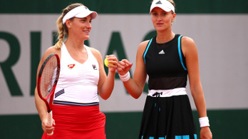 Babos és Mladenovic már nyolcaddöntős a Roland Garroson