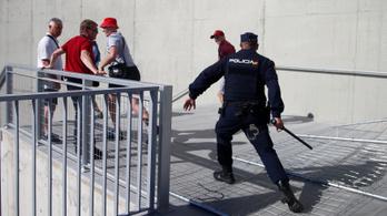 Letartóztattak négy brit szurkolót Madridban a BL-döntő előtt