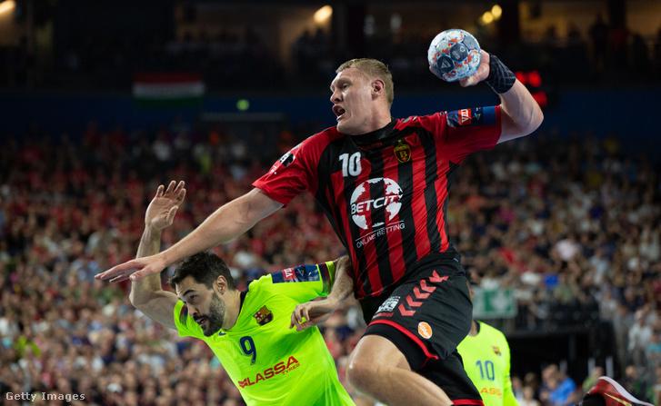 A Barcelona-Vardar BL-elődöntő legjobbja, Dainis Kristopans