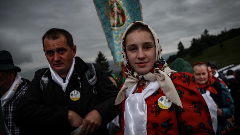 Pápát látni Erdélyben