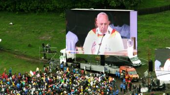 Ferenc pápa egyvalamiről nem beszélt