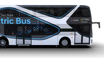 Emeletes buszt épített a Hyundai