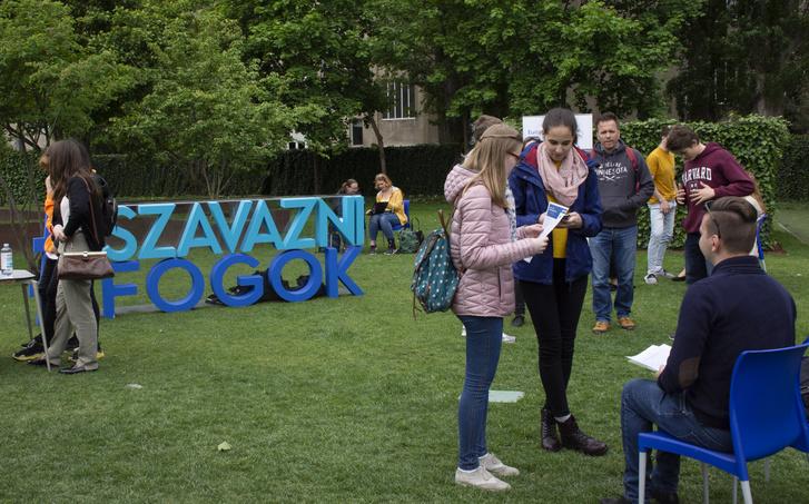 Éld át –Interaktív EU rendezvény a Millenáris Parkban, 2019. április 27-én.